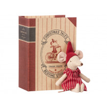 Maileg Christmas Mouse in Book BIG SISTER