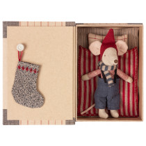 Maileg Christmas Mouse in Book BIG BROTHER