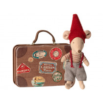 Maileg Christmas Mouse in Suitcase LITTLE BROTHER
