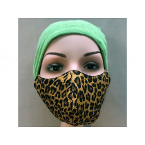Hickups Fabric Mask ADULTS FEMALE Leo