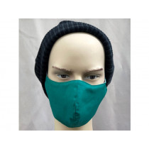 Hickups Fabric Mask ADULTS MALE green