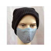 Hickups Fabric Mask ADULTS MALE grey