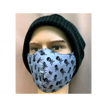 Hickups Fabric Mask ADULTS MALE Pirat