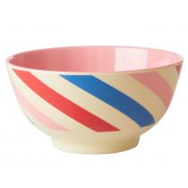 RICE Melamine Bowl CANDY STRIPES