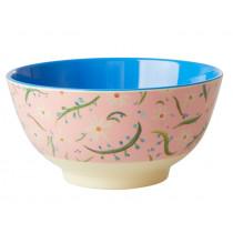 RICE Melamine Bowl DELIGHTFUL DAISIES