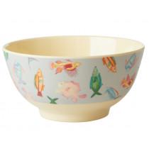 RICE Melamine Bowl FISH
