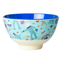 RICE Small Melamine Bowl SPACE