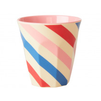 RICE Melamine Cup CANDY STRIPES