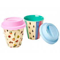 RICE latte cup SILICONE LID