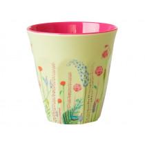 RICE Melamine Cup SUMMER FLOWERS