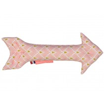Mellipou Rattle Arrow AMY ROSE powder pink