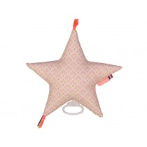 Mellipou Music Box Star Amy Rose AMELIE powder pink