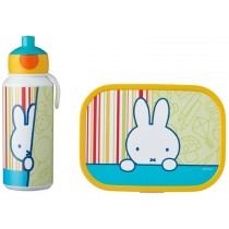 Mepal Lunch box set with water bottle MIFFY