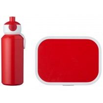 Mepal Lunch box set with water bottle RED
