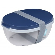 Mepal Salatbox Ellipse BLUE