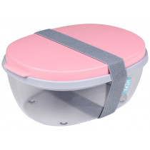 Mepal Salatbox Ellipse POWDER PINK