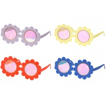Meri Meri 12 Party Glasses FLOWERS