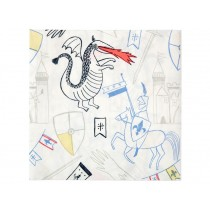 Meri Meri 20 Large Napkins DRAGON KNIGHT