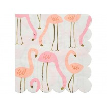 Meri Meri 16 Large Napkins FLAMINGO