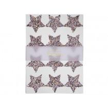 Meri Meri 120 Glitter Stickers STARS rainbow