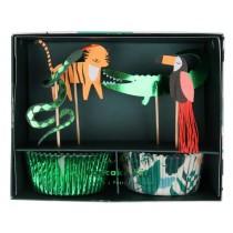 Meri Meri Cupcake Kit GO WILD