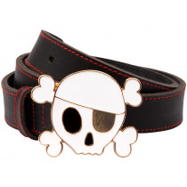 Meri Meri children's belt SKULL