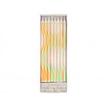 Meri Meri Candle RAINBOW Pattern
