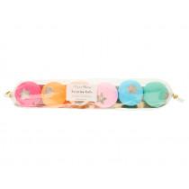 Meri Meri 6 Surprise Balls RAINBOW