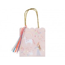 Meri Meri 8 Party Gift Bags MAGICAL PRINCESS