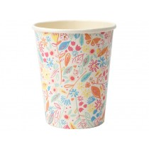 Meri Meri 8 Party Cups MAGICAL PRINCESS