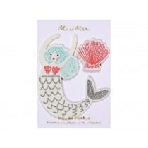 Meri Meri Iron On Patches MERMAID
