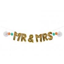 Meri Meri Balloon Kit MR & MRS