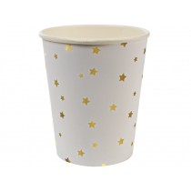 Meri Meri Party Cups Stars gold