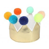 Meri Meri Crown with POMPOMS