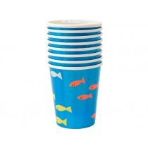Meri Meri 8 Party Cups UNDER THE SEA