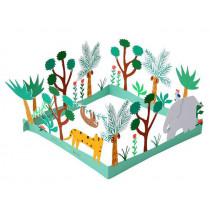 Meri Meri 3D Birthday Card GO WILD Jungle