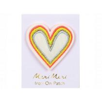 Meri Meri Iron On Patch RAINBOW HEART