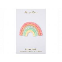 Meri Meri Iron On Patch GLITTER RAINBOW