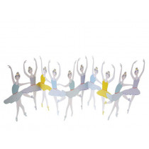 Meri Meri 3D Birthday Card BALLET DANCERS