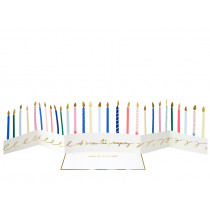 Meri Meri 3D Card BIRTHDAY CANDLES