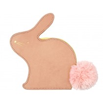 Meri Meri Leather Coin Purse BUNNY