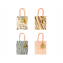 Meri Meri 8 Party Gift Bags SAFARI ANIMAL