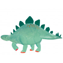 Meri Meri 4 XL Party Plates STEGOSAURUS Dinosaur Kingdom
