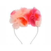 Meri Meri Headband FLOWERS pink