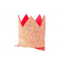 Meri Meri Hair Clip PARTY CROWN pink
