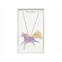 Meri Meri Necklace GLITTER UNICORN