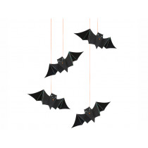 Meri Meri Hanging Decoration SPOOKY BAT Holographic