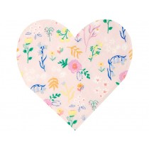 Meri Meri Small Napkins WILDFLOWER HEART