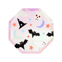 Meri Meri 8 Small Plates HALLOWEEN ICONS