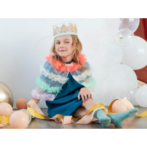 Meri Meri Dress Up TULLE RUFFLE CAPELET neon